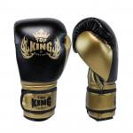 TOP KING TKT經典系列成人拳擊手套 (14OZ) - 黑色