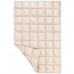 Naturehike 戶外酣然羽絨蓋毯披肩 (NH19LY010) | 旅遊出行超輕量小被子 - 米白色