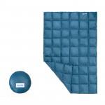 Naturehike 戶外酣然羽絨蓋毯披肩 (NH19LY010) | 旅遊出行超輕量小被子 - 藍色