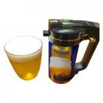 日本 Green House 無線Handy便攜罐裝啤酒機 | 罐裝啤酒起泡機 Party必備系列 | 香港行貨 - 黑色