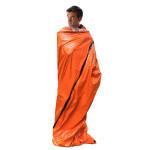 應急鋁膜保溫救生睡袋 | 叢林探險野營PE鋁膜睡袋 防寒抗災保暖毯