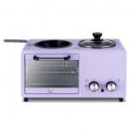 Miyamoto BM-18 四合一多功能早餐機 | 焗爐煮鍋煎鍋早餐神器 | 香港行貨 - 紫色