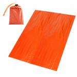 應急鋁膜保溫救生毯 | 叢林探險野營PE鋁膜毯 防寒抗災保暖毯