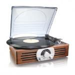 THOMSON MT-38PC 3段轉速唱盤 黑膠碟機   帶AM/FM收音機   香港行貨