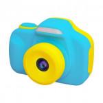 日本 VisionKids HappiCAMU T3 特大觸控屏幕雙鏡兒童相機 | 香港行貨 - 藍色