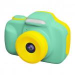 日本 VisionKids HappiCAMU T3 特大觸控屏幕雙鏡兒童相機 | 香港行貨 - 綠色