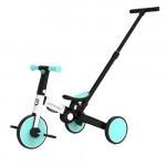 Uonibaby 三合一兒童滑步平衡車單車帶手把款 - 藍色|滑步車|推行車