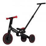 Uonibaby 三合一兒童滑步平衡車單車帶手把款 - 紅色|滑步車|推行車