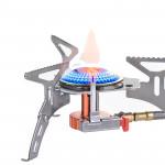 Naturehike 戶外露營分體式爐頭 (NH17L040-T) | 摺疊氣罐爐頭 三腳爐頭