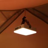 NatureHike 可充電三合一方月營地燈 (NH18Y001-A)   超亮帳篷應急照明LED燈 - 黑色