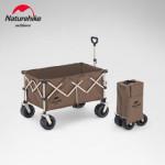 NatureHike 四向摺疊粗輪小推車大號粗輪款 (NH20PJ005)   野餐露營便攜小拉車拉桿車