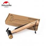 NatureHike 露營黃銅營鎚 (NH20PJ083)   戶外帳篷輕便地釘錘帶拔釘器