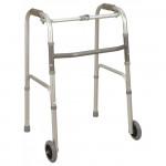 銀適摺合式帶輪助行架|復康助行車