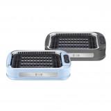 HIRAKI HG-02 無煙家用電電燒烤爐 | 靜音吸油煙易洗多功能烤肉機 | 香港行貨 - 灰色