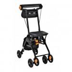 日本TacaoF 輕量型助行手推車 - 黑色 (附送車手提袋) | 助行車 CPS02