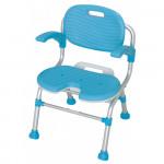 日本TacaoF 可摺式U形沐浴椅(有背及扶手)