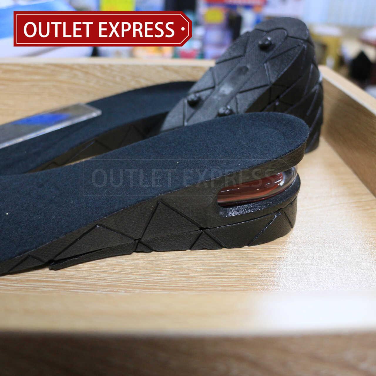 PU防震隱形內增高鞋墊|  4層可調節增高9CM - Outlet Express HK生活百貨城實拍相片