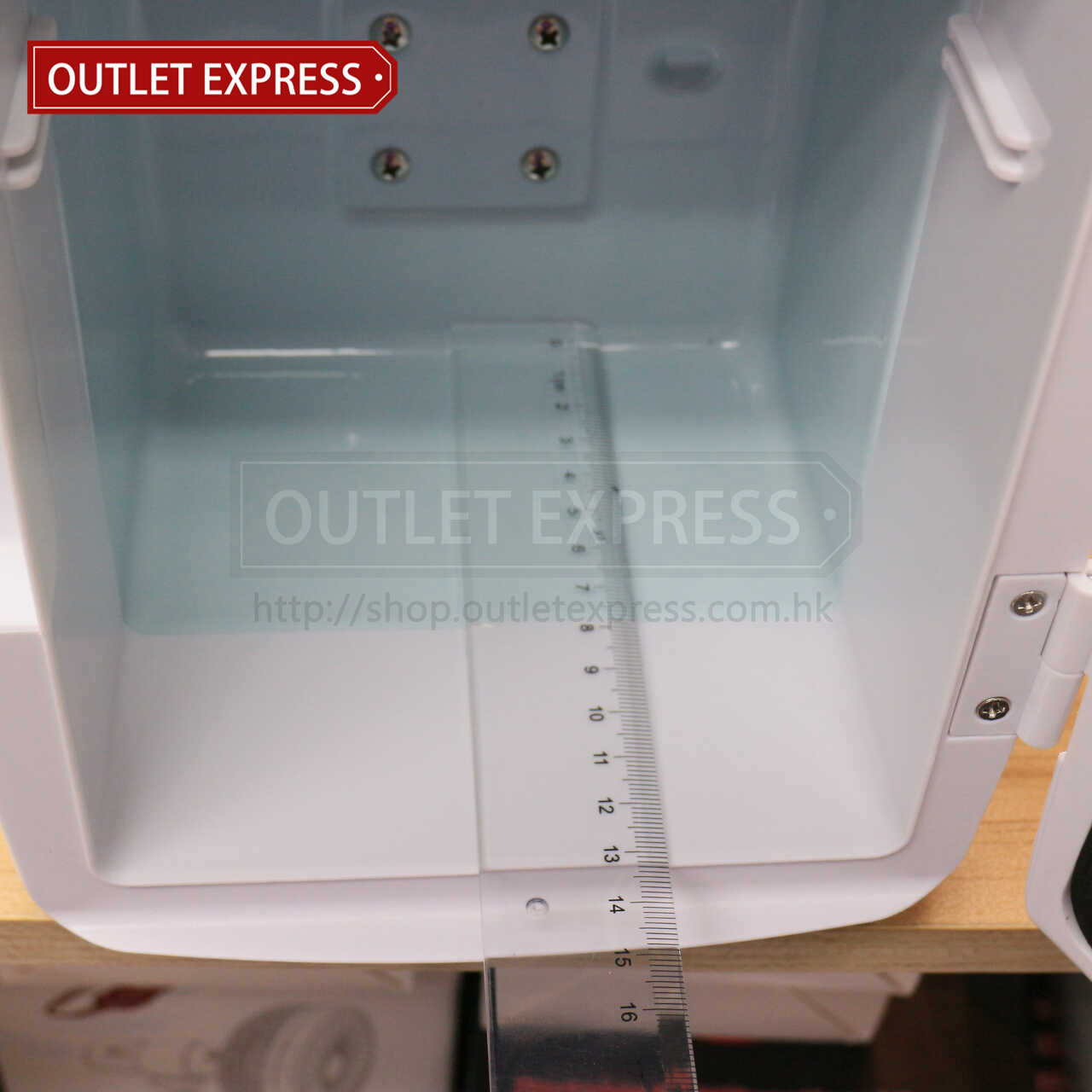 4L 冷暖兩用迷你小雪櫃 | 可車載或家用 內格深度- Outlet Express HK生活百貨城實拍相片