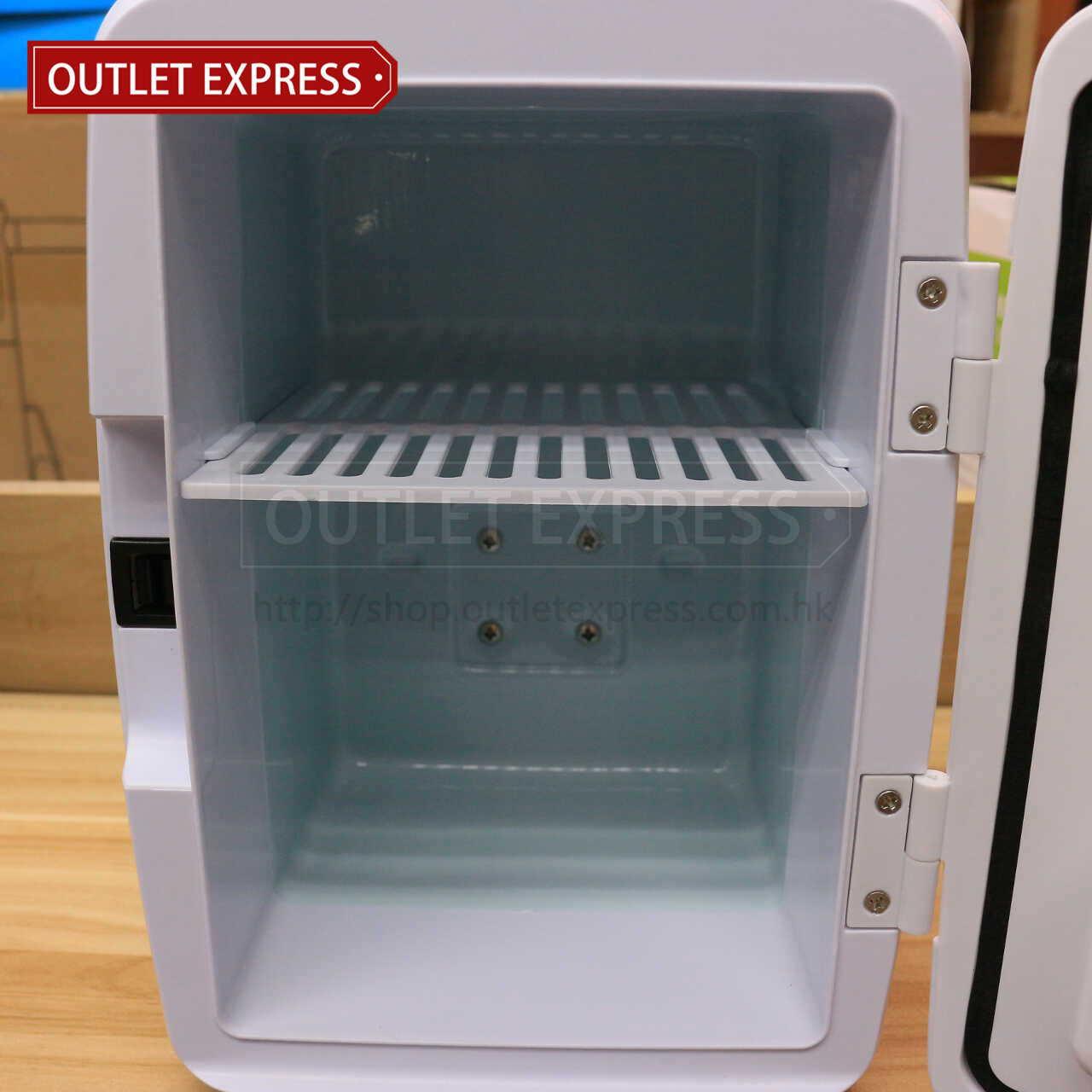 4L 冷暖兩用迷你小雪櫃 | 可車載或家用 內部- Outlet Express HK生活百貨城實拍相片