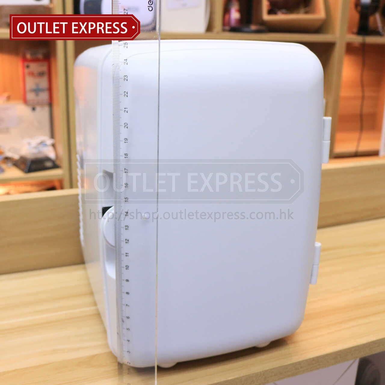 4L 冷暖兩用迷你小雪櫃 | 可車載或家用 高度- Outlet Express HK生活百貨城實拍相片