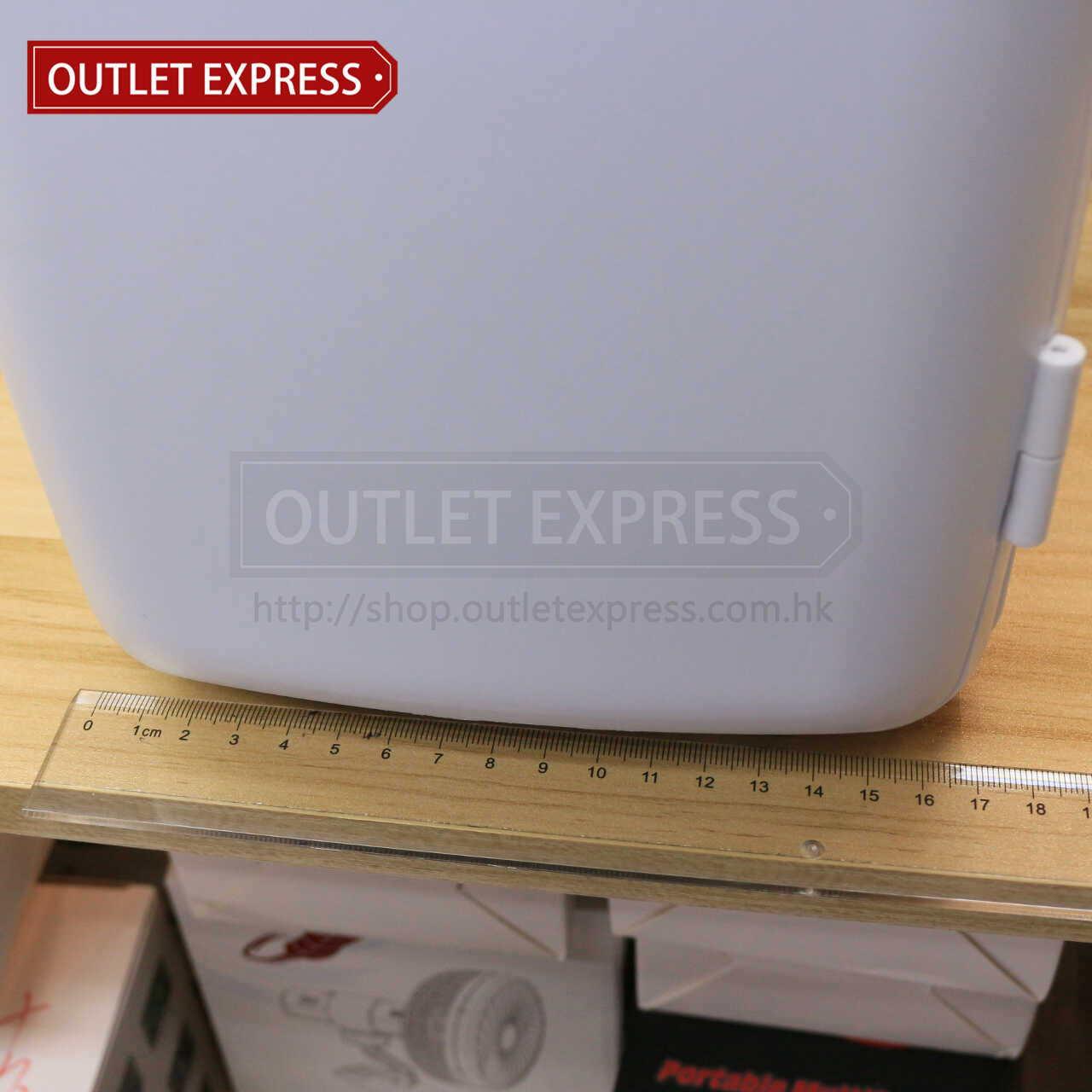 4L 冷暖兩用迷你小雪櫃 | 可車載或家用 寬度- Outlet Express HK生活百貨城實拍相片