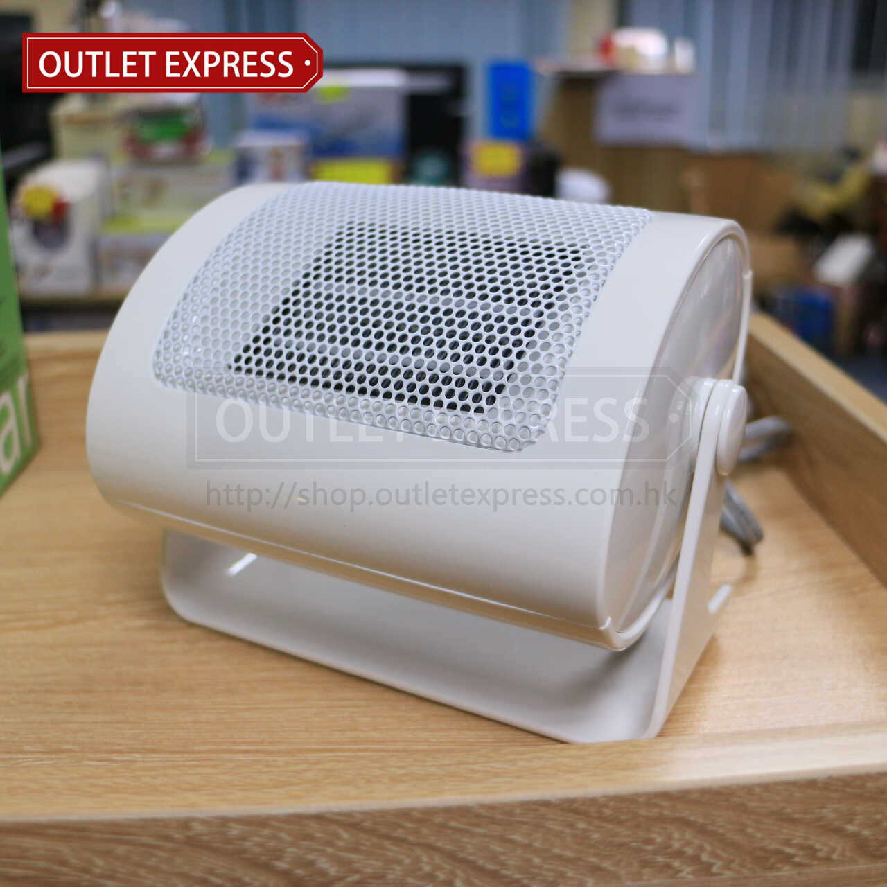 INNOTEC IH-3638 迷你桌面陶瓷暖風機 | 陶瓷暖爐  - Outlet Express HK生活百貨城實拍相片