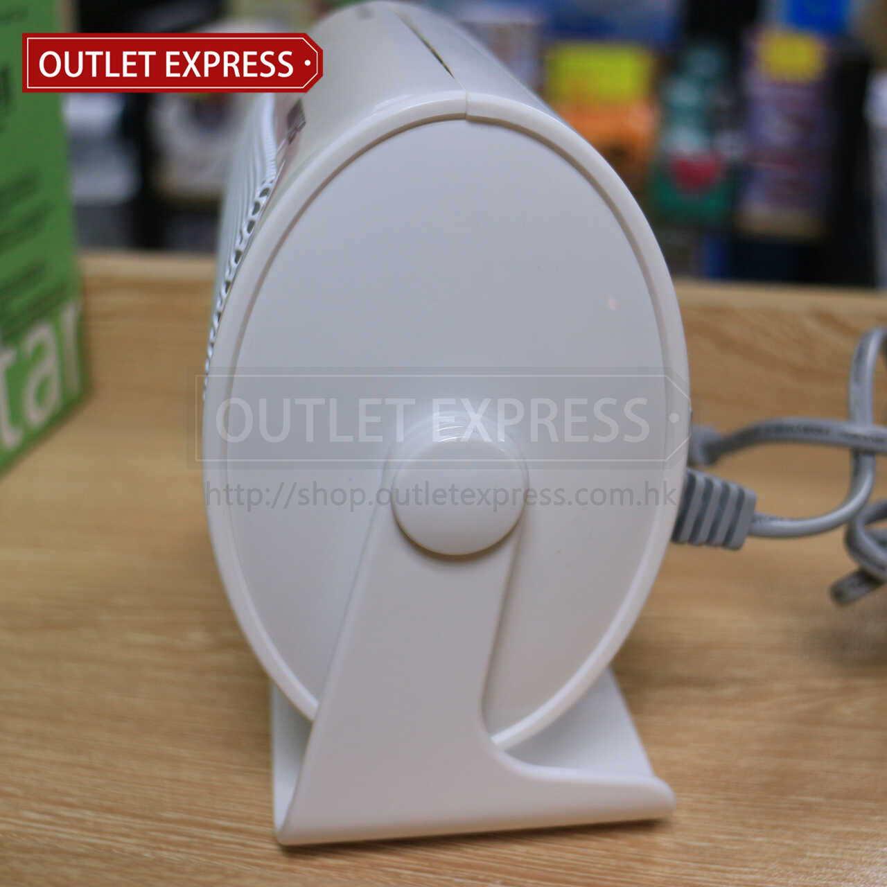 INNOTEC IH-3638 迷你桌面陶瓷暖風機 | 陶瓷暖爐 側面圖  - Outlet Express HK生活百貨城實拍相片