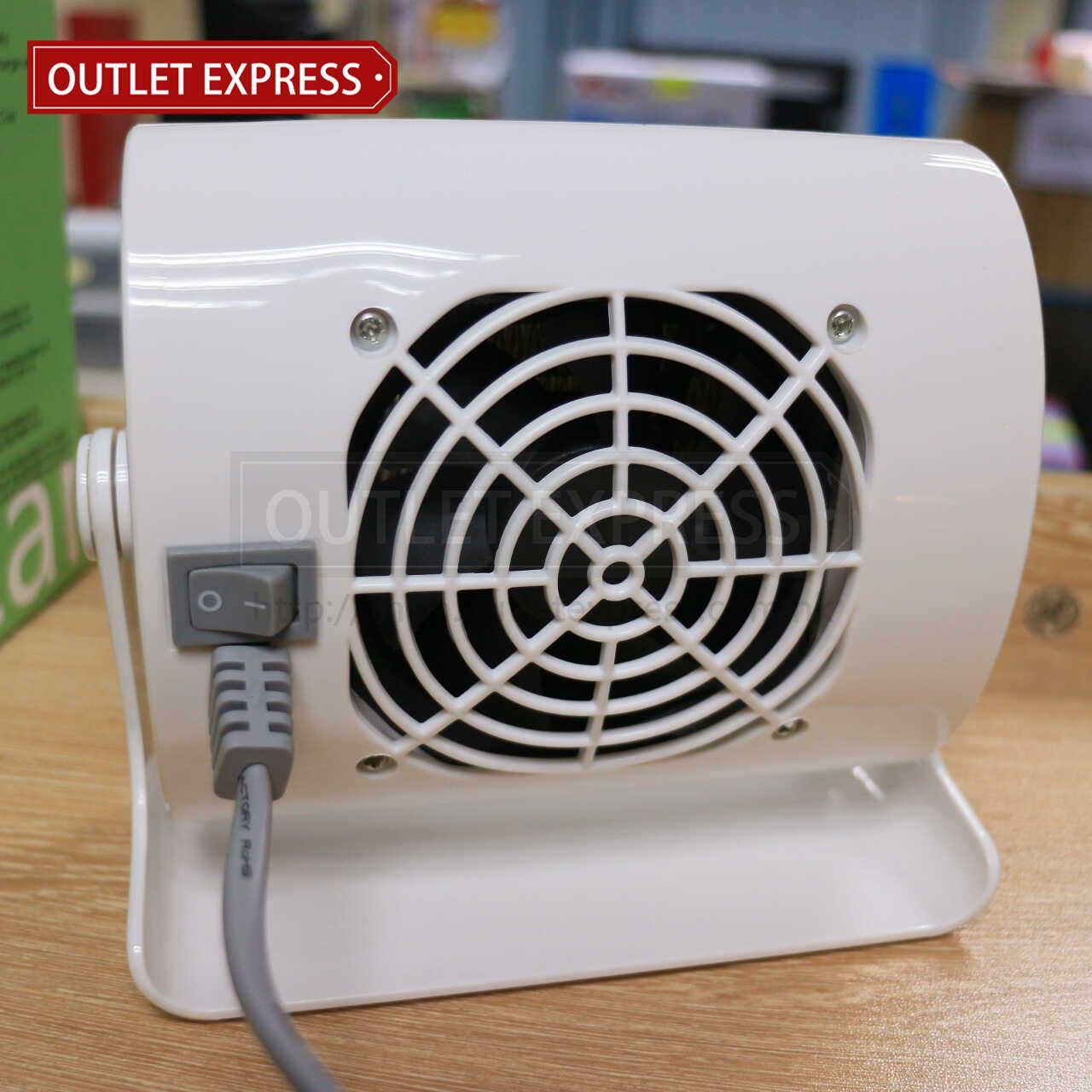 INNOTEC IH-3638 迷你桌面陶瓷暖風機 | 陶瓷暖爐 背面圖 - Outlet Express HK生活百貨城實拍相片