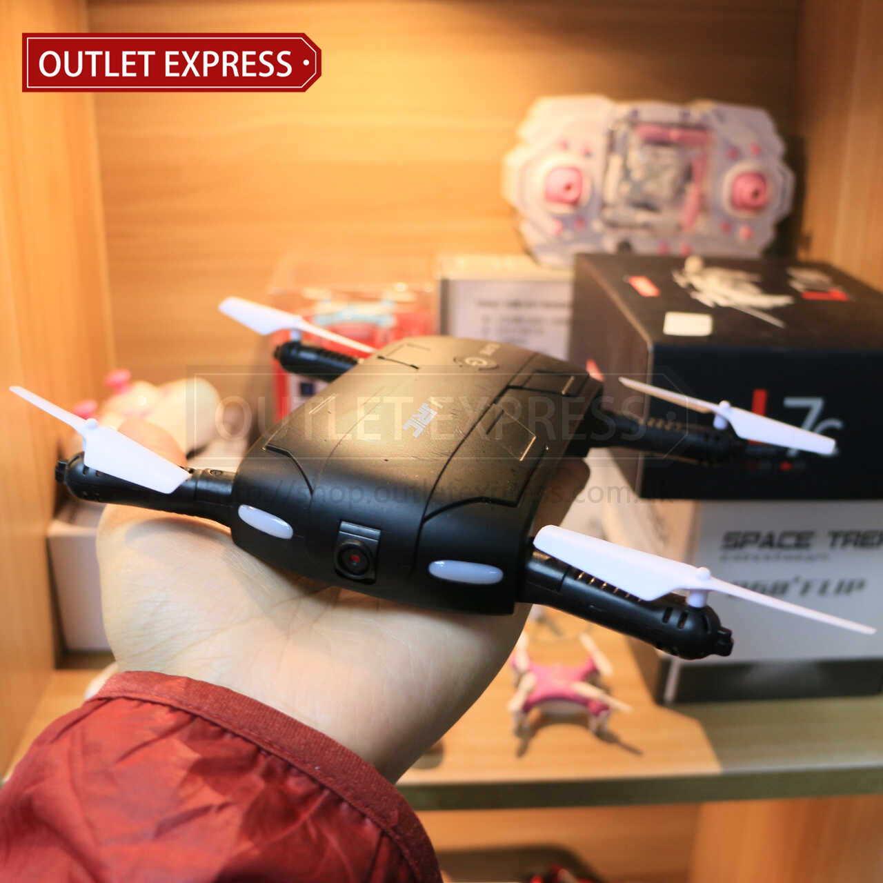JJRC H37 可折疊迷你四軸無人機飛行器 開展 - Outlet Express HK生活百貨城實拍相片