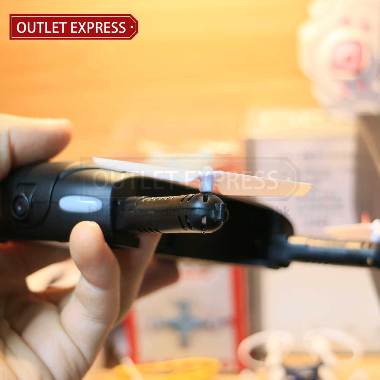 JJRC H37 可折疊迷你四軸無人機飛行器 軸翼- Outlet Express HK生活百貨城實拍相片