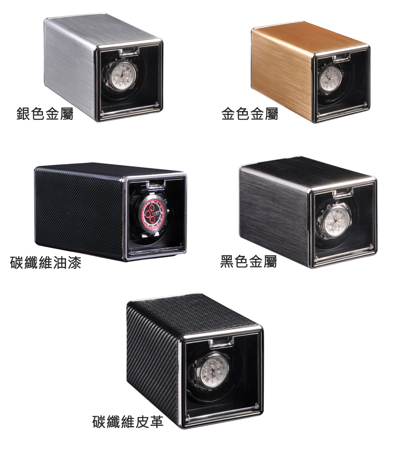 錶盒 INTIME 單錶位自動上鏈自轉錶盒 - Outlet Express HK生活百貨城