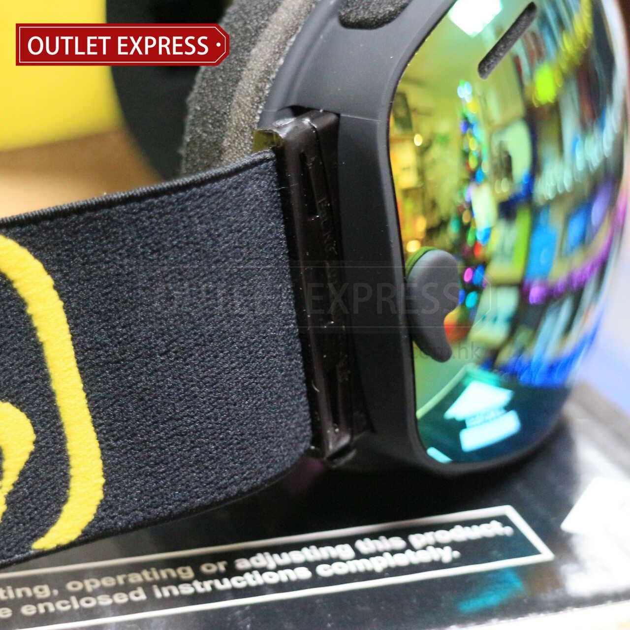 BENICE 大球面雙層防霧滑雪鏡 | 可配合眼鏡用 側邊-Outlet Express HK生活百貨城實拍相片
