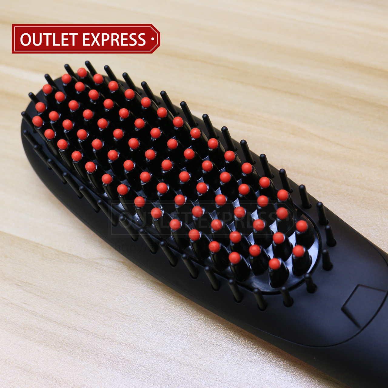 NASV-300 負離子直髮梳 梳,- Outlet Express HK 生活百貨城實拍相片