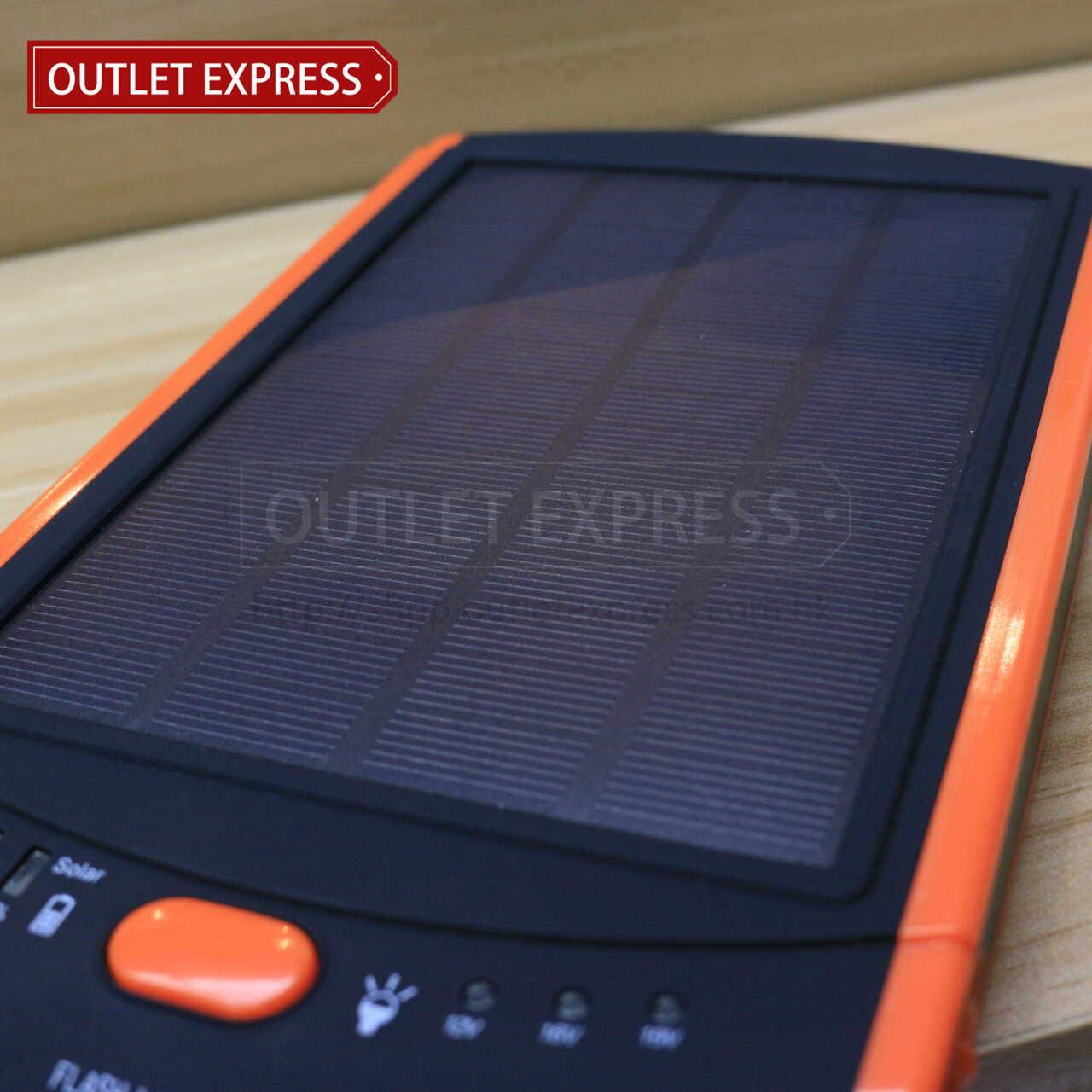 23000mAH 超薄太陽能移動電源- Outlet Express HK 生活百貨城實拍圖