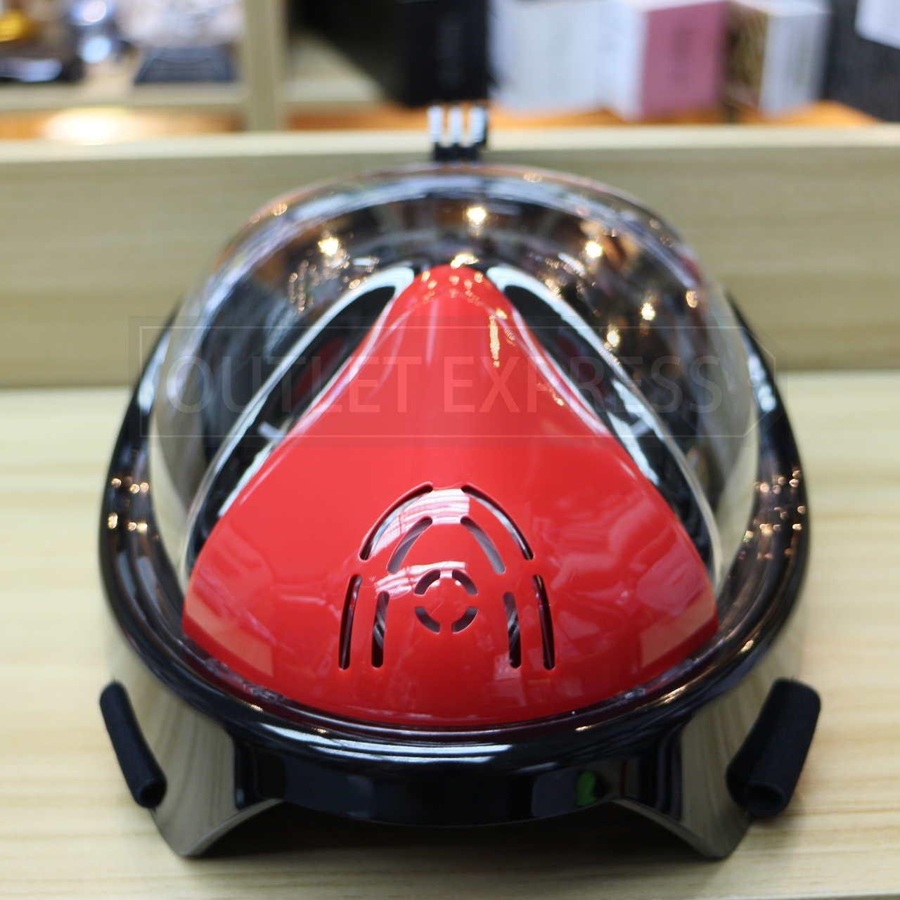 THENICE全乾式防霧浮潛面罩 頂部- Outlet Express HK生活百貨城實拍相片