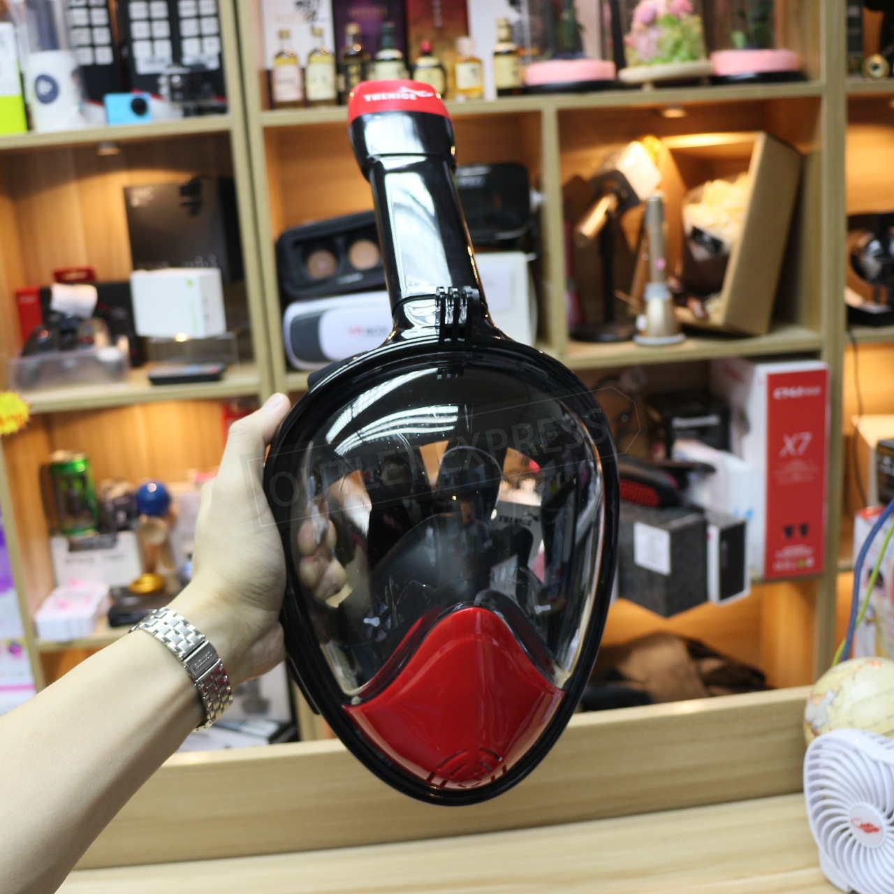 THENICE全乾式防霧浮潛面罩 正面- Outlet Express HK生活百貨城實拍相片
