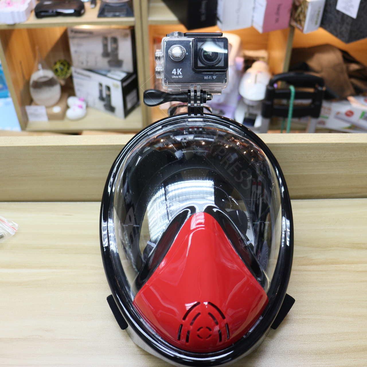 THENICE全乾式防霧浮潛面罩 連Sportcam- Outlet Express HK生活百貨城實拍相片