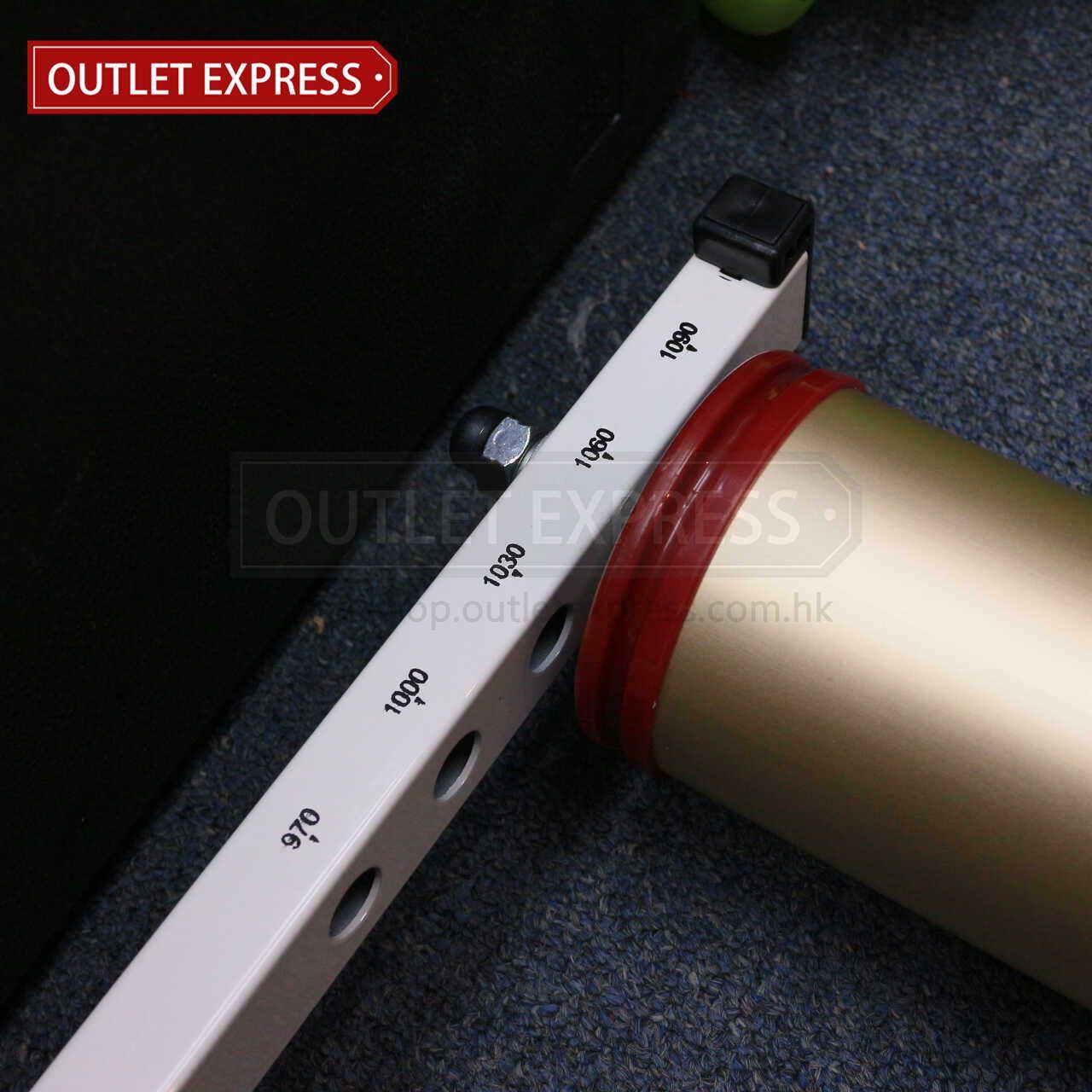 滾筒室內單車訓練台 -單車長度調較 Outlet Express HK生活百貨城實拍相片