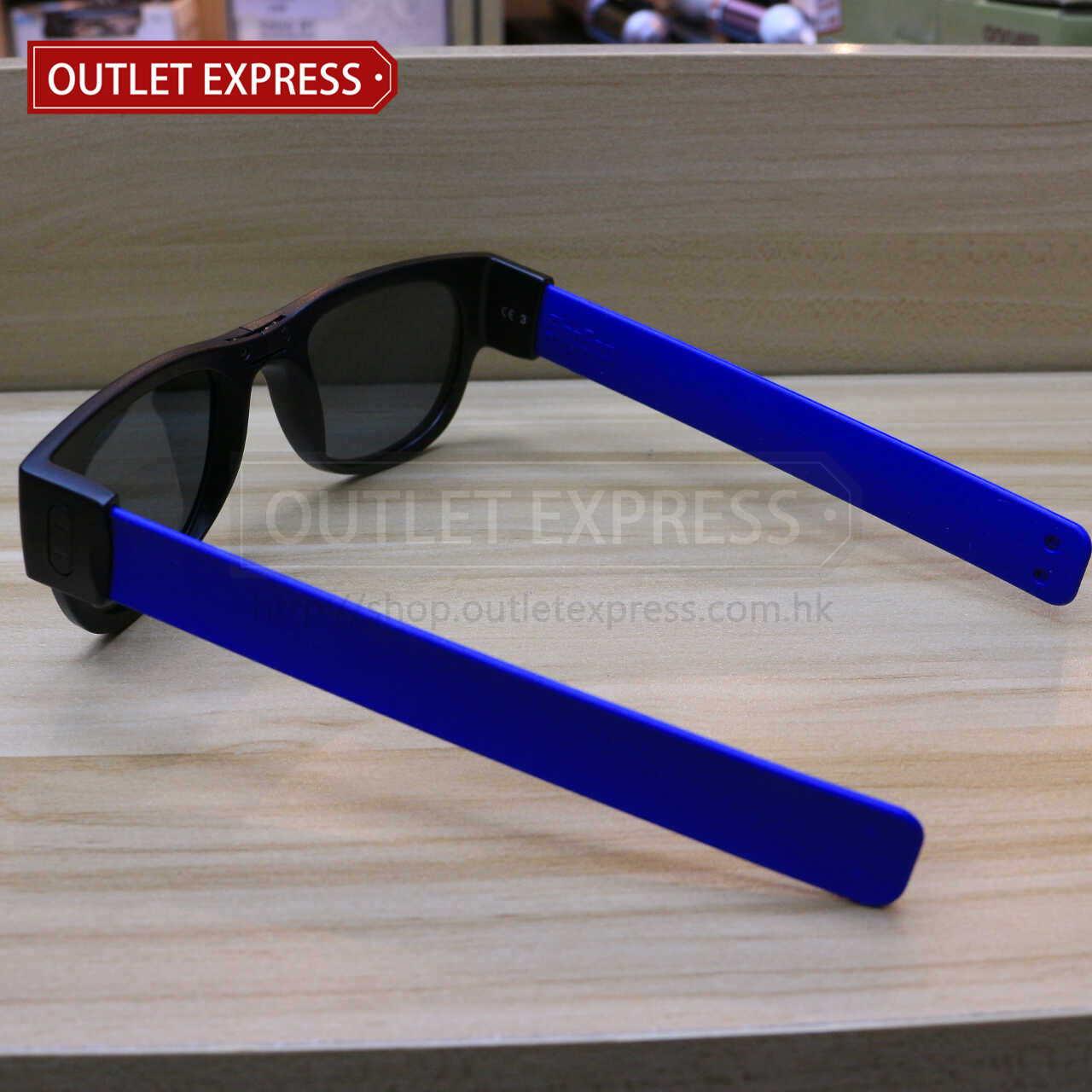 紐西蘭 SlapSee 變形偏光太陽眼鏡  側面圖- Outlet Express HK 生活百貨城實拍圖