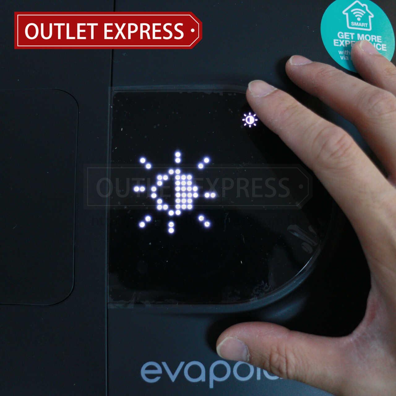 Evapolar 二代小型個人流動冷氣機 (evaSMART EV-3000) | 智能水冷風機 ( 現貨發售 ) | 香港行貨 光間度- Outlet Express HK生活百貨城實拍相片